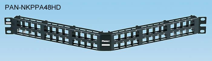 Panneau de brassage Modulaire Encastrable - Panduit NetKey®
