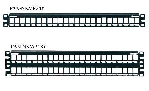panduit panneau de brassage m tallique modulaire panduit netkey achat vente panneau de. Black Bedroom Furniture Sets. Home Design Ideas