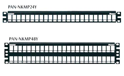 Panneau de brassage Métallique Modulaire - Panduit NetKey®