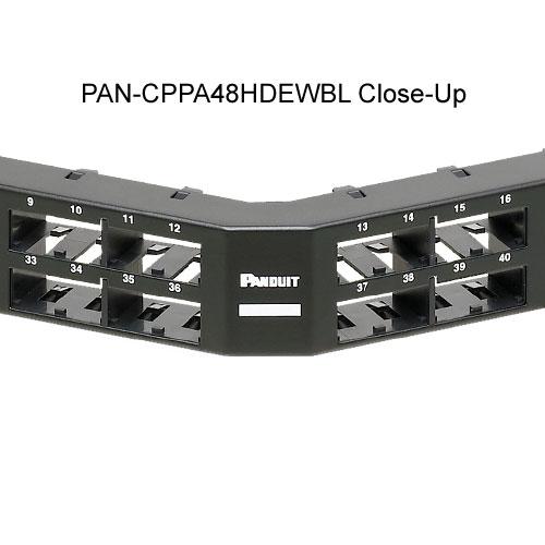 Panneaux de brassage Panduit Mini-Com® à haute densité