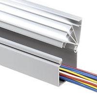 Chemin de câbles Panduct® de Panduit à parois latérales pleines