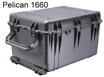 Grande valise de protection avec roulettes - Peli