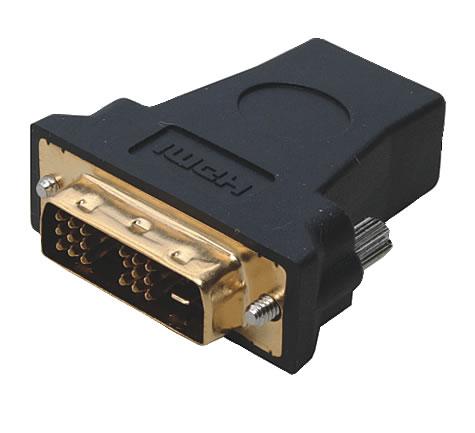 Adaptateur Jack HDMI Femelle vers DVI D Dual Link Mâle