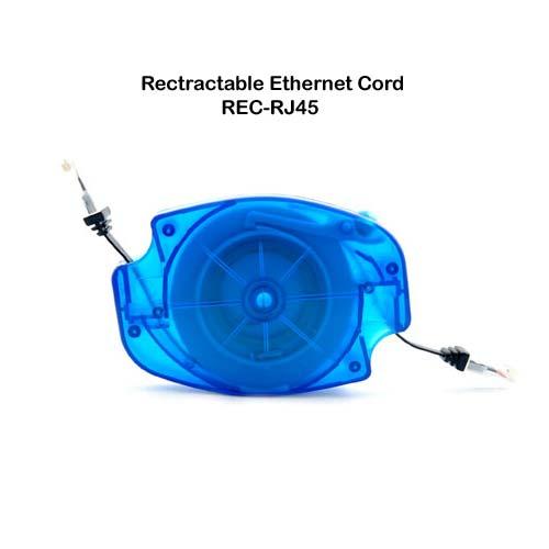 Câble ethernet & modem / téléphone auto-rétractable