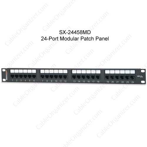 Panneaux de brassage modulaire UTP Signamax haute densité 19 pouces