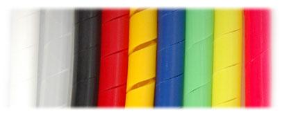 Gaine Spirale Colorée