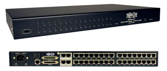 NetDirectorT 32-Port/commutateur de 4-User KVM