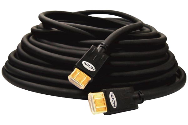 Câble HDMI audio/vidéo Vanco Blue Jet