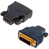 Adaptateur Jack HDMI vers DVI Video Plug mâle