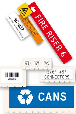 Étiquettes de maintenance, d\