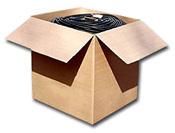 Carton<br>52 cm x 52 cm x 53 cm<br>Agréé UPS<br>Poids Moyen: 15kg