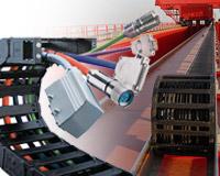 porteur de câbles, gaine robotique