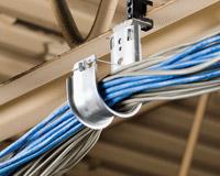 Supports de câbles au plafond