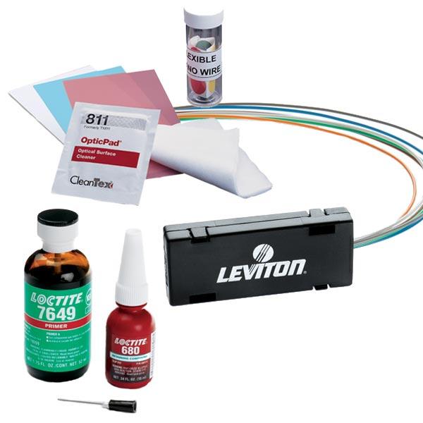 leviton kit consommables fibre optique et kit. Black Bedroom Furniture Sets. Home Design Ideas