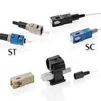 Connecteurs de fibre FastCAM et kits d\'installation