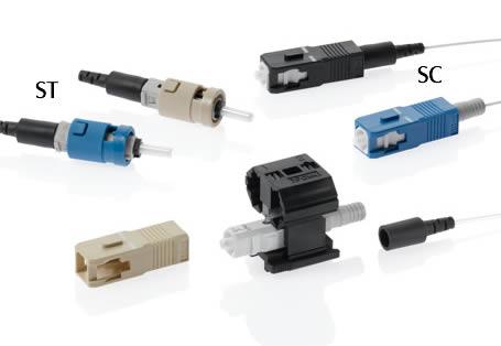 Connecteurs de fibre FastCAM et kits d'installation