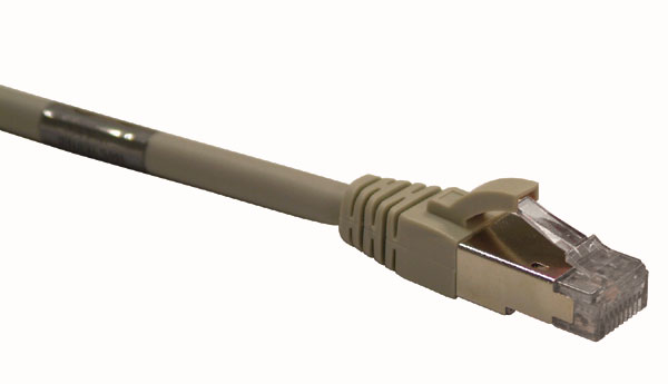 Cordons de brassage RJ45 CAT 6A surmoulés SFTP