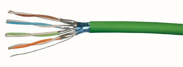Bobine de câble réseau RJ45 CAT 6A FFTP LSZH Platine Réseaux