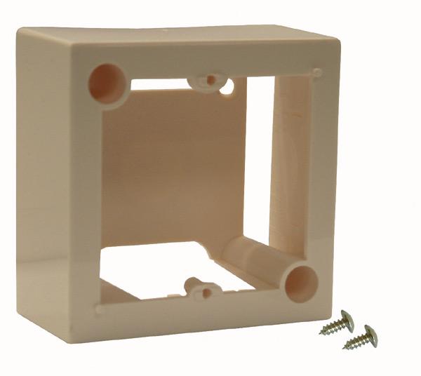platine r seaux cadre pour montage en saillie achat vente cadre pour montage en saillie. Black Bedroom Furniture Sets. Home Design Ideas