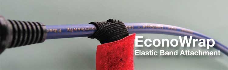 Sangles Rip-Tie Econowrap avec élastique