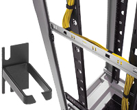 Gestion de câbles rack