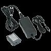 Batterie au lithium-ion rechargeable avec adaptateur secteur/batterie EU pour BMP51