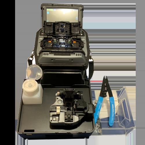 Soudeuse fibre optique haut de gamme - Modèle 90S avec cliveuse CT50