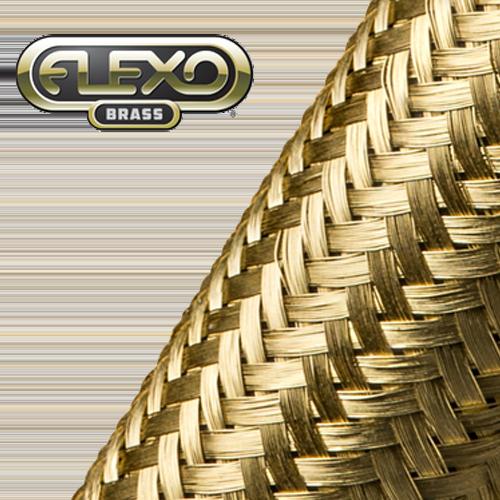Gaine tressée en laiton Flexo Brass