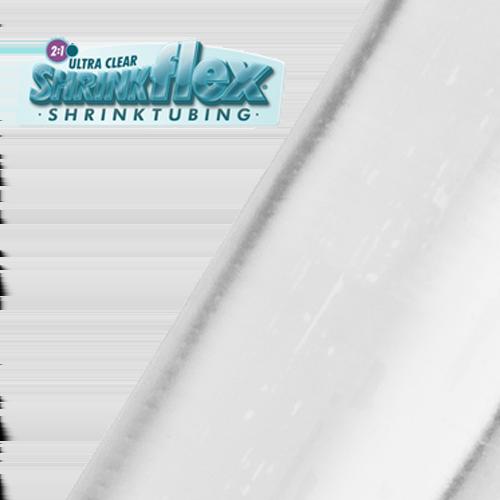 Gaine thermorétractable Shrinkflex® en PVC Cristal 2:1