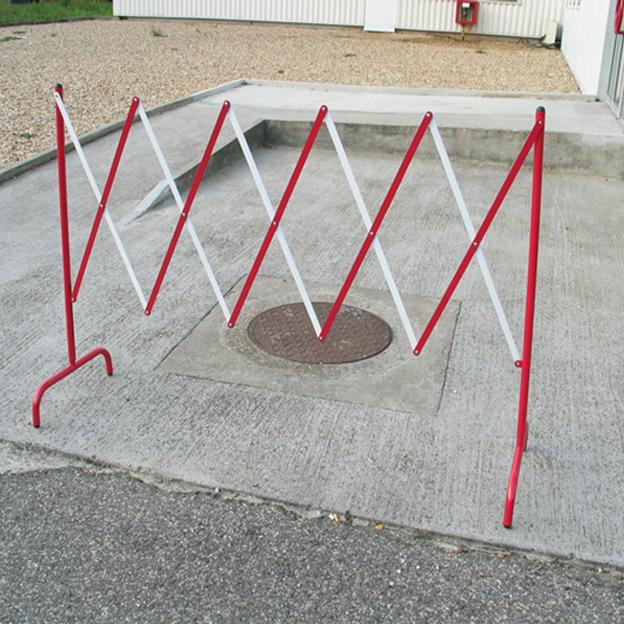 Barrière de chantier extensible 2,30 m