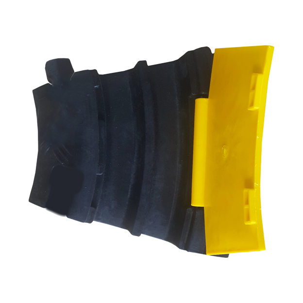 Passe câbles 2 canaux rectangulaires de 32 x 38 mm