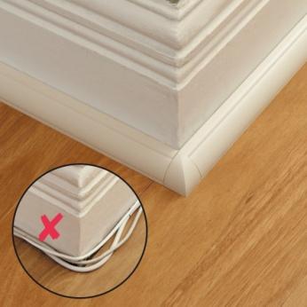 Moulure décorative quart de cercle - D-Line