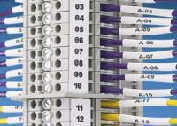 Cassettes d'étiquettes continues pour blocs de terminaisons Panduit P1