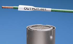 Étiquettes thermorétractables découpées pour imprimante Panduit LS8E
