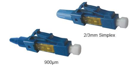 Connecteurs terrain LC à fibrer - Platine Réseaux